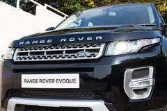 Range Rover Evoque autobiografii 2015 testa przejażdżka Zdjęcie Stock