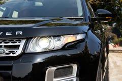 Range Rover Evoque autobiografii 2015 testa przejażdżka Fotografia Royalty Free