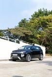 Range Rover Evoque autobiografii 2015 testa przejażdżka Fotografia Stock