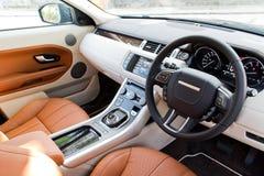 Range Rover Evoque autobiografii 2015 wnętrze Obraz Royalty Free
