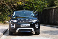 Range Rover Evoque Autobiography 2015 Test Drive Royalty Free Stock Image