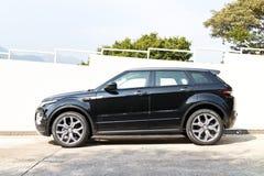 Range Rover Evoque Autobiography 2015 Test Drive Stock Image
