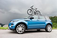 Range Rover Evoque 2014 Royalty Free Stock Photos