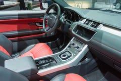 Range Rover Evoque kabriolet SUV Zdjęcie Stock