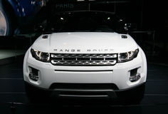 Range Rover Evoque at Paris Motor Show Royalty Free Stock Image