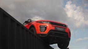 Range Rover Evoque presented in motorshow