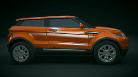 Range Rover Evoque redesigned stock video footage
