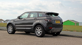 Range rover evoque sd4 Stock Image