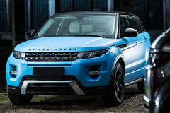 Range Rover EVOQUE tuning Royalty Free Stock Image