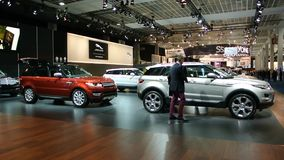 Range Rover Evoque stock video footage