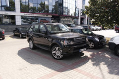 Range Rover Stock Images