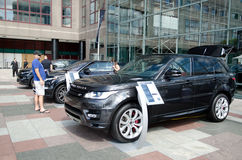 Range Rover exhibition Royalty Free Stock Images