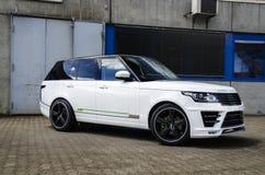 Range Rover faite sur commande Photo libre de droits