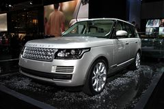 Range Rover - Land Rover Royalty Free Stock Photo