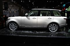 Range Rover - Land Rover Royalty Free Stock Photo