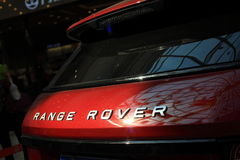 Range Rover logo Stock Photo