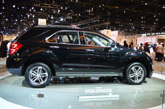 2015 Range Rover na dispay przy Chicgago Auto przedstawieniem Fotografia Stock