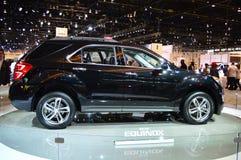 2015 Range Rover op dispay in Chicgago Auto toont Stock Fotografie