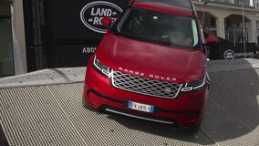 Range Rover presented in motorshow during the 49° Barcolana
