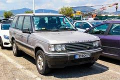 Range Rover Royalty Free Stock Photos