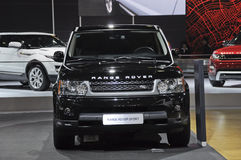 Range Rover Sport. In its exhibition hall,in 2010 international Auto-show GuangZhou. it is from 20/12/2010 to 27/12/2010. photo taken on 25 Dec. 2010 Stock Photo