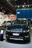 Range Rover Sport on display Royalty Free Stock Image