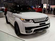 Range Rover Sport Geneva 2014 Royalty Free Stock Photos