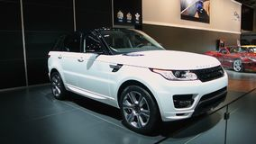 Range Rover Sport stock video footage