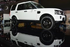 Range Rover Sport SUV at the Geneva Motor Show Stock Photo