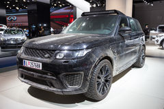Range Rover sporta SVR forma widmo film Zdjęcia Royalty Free