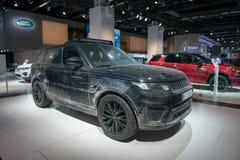 Range Rover sporta SVR forma widmo film Zdjęcia Stock
