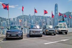 Range Rover 2015 testa Prowadnikowy dzień Zdjęcie Royalty Free