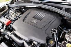 Range Rover Tylnojęzykowy 2017 silnik Zdjęcie Stock