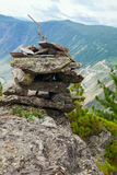 Range  stone mount Stock Photography