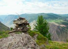 Range  stone mount Stock Photo