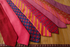 Range of ties Stock Photography