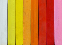Range of warm colors Royalty Free Stock Image