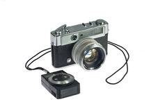 Rangefinder camera Stock Images
