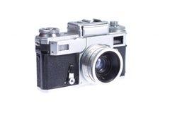 Rangefinder camera. Isolated on white background Stock Photography