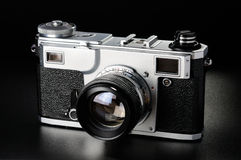 Rangefinder camera Royalty Free Stock Image