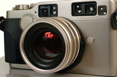 Rangefinder camera Stock Image