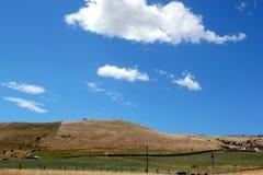 Rangeland под солнцем Стоковое Изображение RF