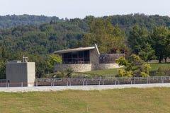 Ranger Station. The Ranger Station at the Blue Marsh Lake Stock Photography