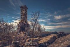 Ranger Station Remnants, High Rocks Trail royalty free stock photos