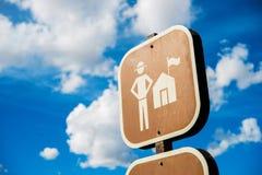 Ranger Station Sign Stock Image