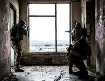 Rangers in action Royalty Free Stock Photography