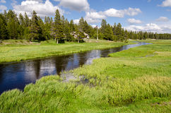 Rangers house in Yellowstone Royalty Free Stock Photos