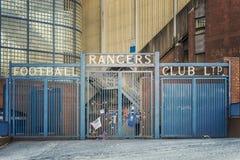Rangers Ibrox Stadium Gates Stock Photos