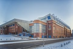 Rangers Ibrox Stadium Royalty Free Stock Image