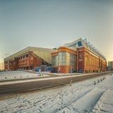 Rangers Ibrox Stadium Road Royalty Free Stock Photography